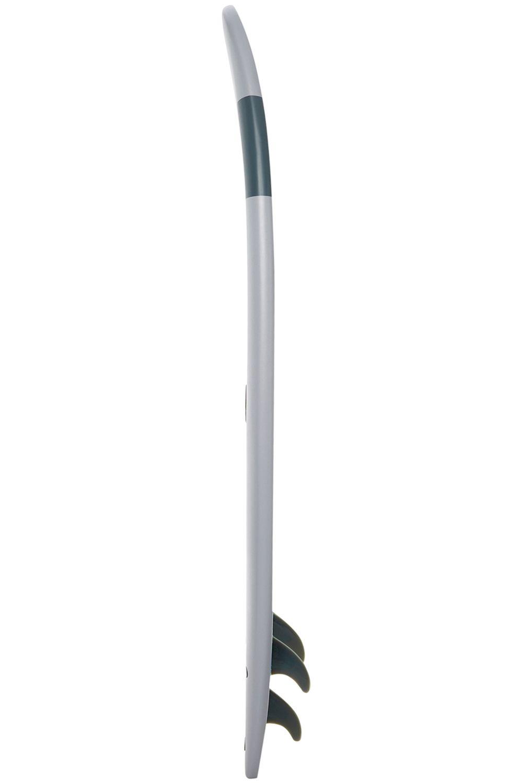 Prancha Surf Softech HANDSHAPED FB 8ft4 GREY Squash Tail - Color FCS 8ft4