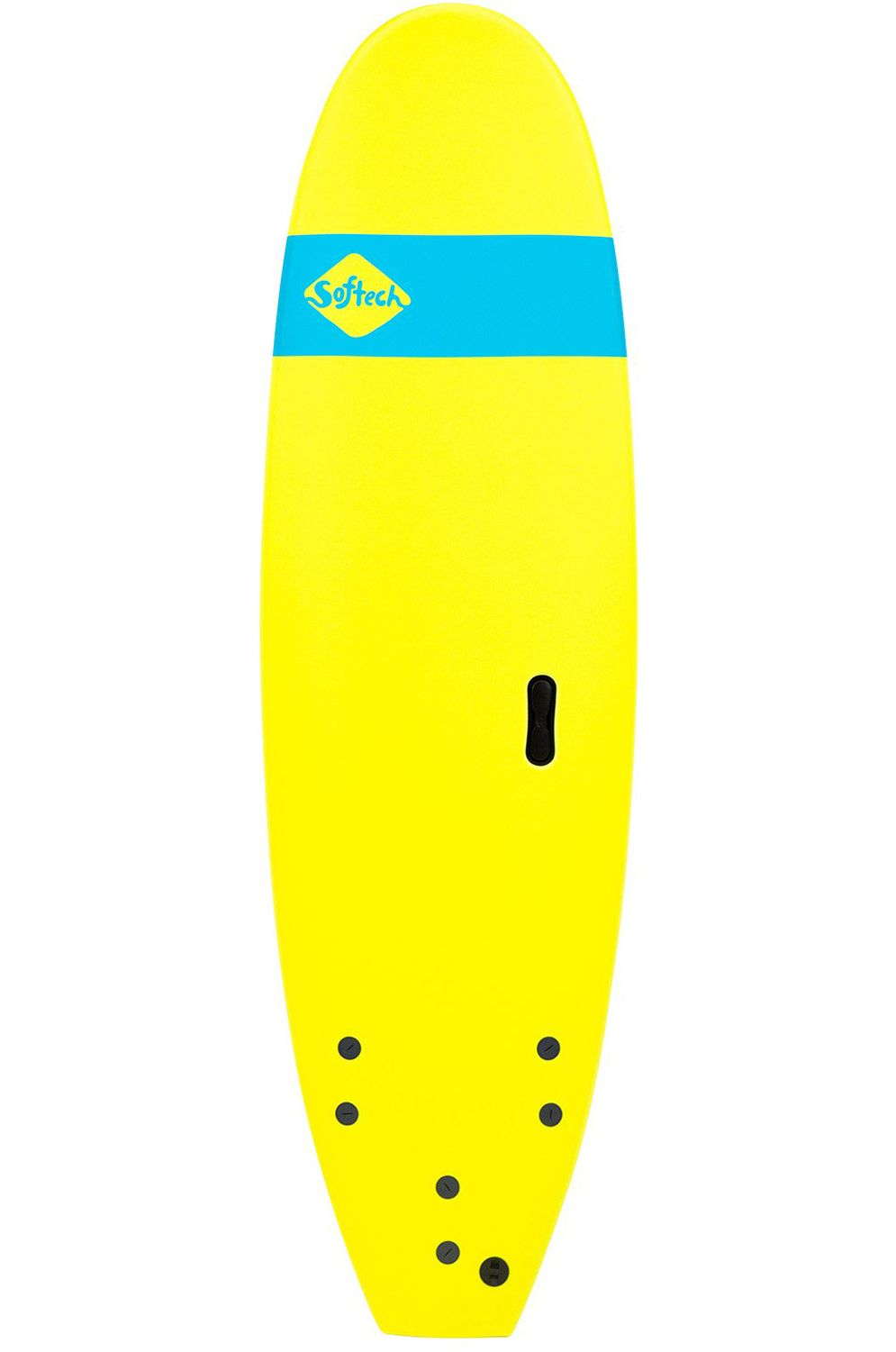 Softech Surf Board 6'0 ROLLER ICE YELLOW Square Tail - Color FCS 6ft0