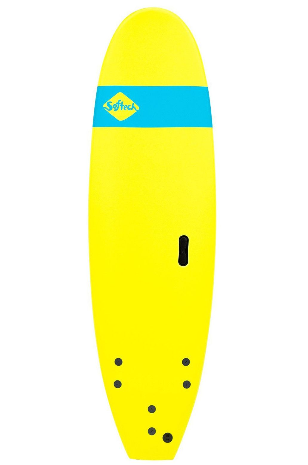 Prancha Surf Softech 8'4 ROLLER ICE YELLOW Square Tail - Color FCS 8ft4