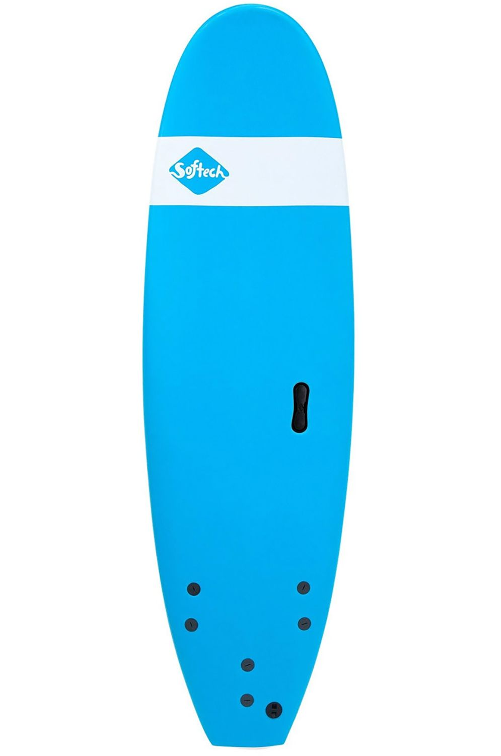 Prancha Surf Softech 9'0 ROLLER BLUE Square Tail - Color FCS 9ft0