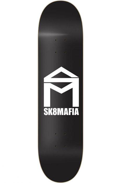 """Tabua Sk8Mafia 8"""" X 32"""" HOUSE LOGO BLACK Assorted"""