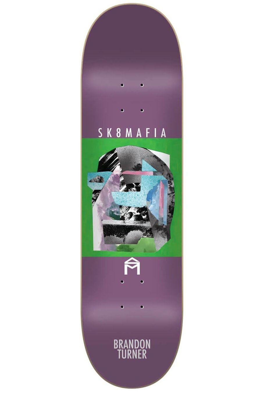 "Tabua Sk8Mafia 8.25"" X 32"" BRANDON TURNER STONE Assorted"