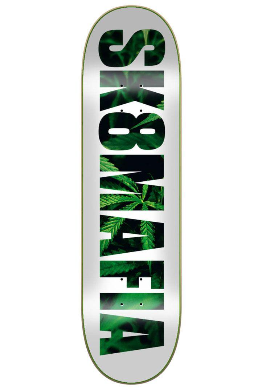 """Sk8Mafia Skate Board 8"""" X 32"""" LEAVES Assorted"""