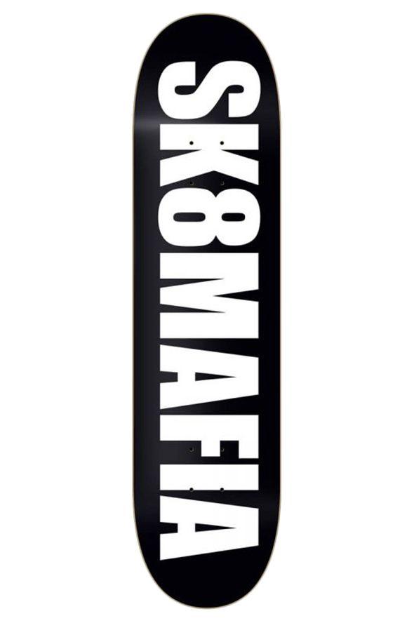 "Sk8Mafia Skate Board 8"" X 32"" OG LOGO BLACK Assorted"
