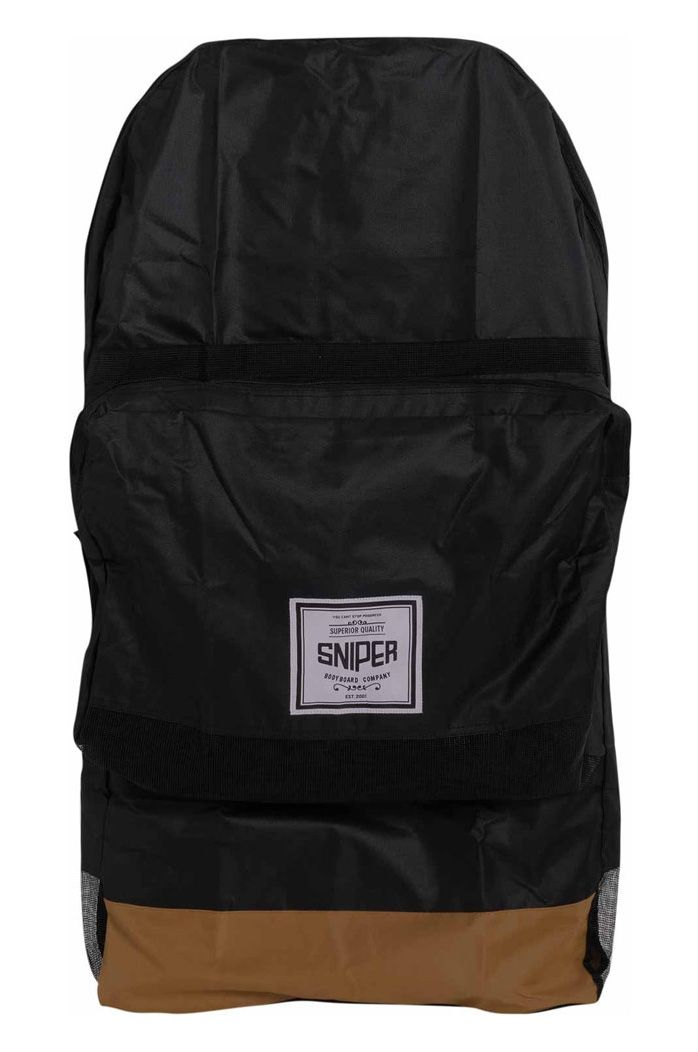 Capa Sniper SINGL DELUX Black/Brown/Label