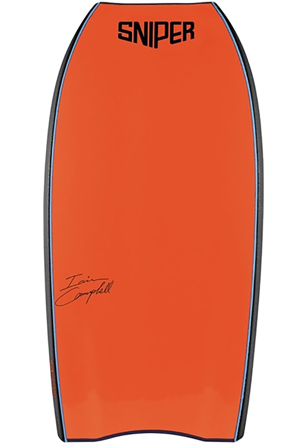 Prancha Bodyboard Sniper IAIN PP IAIN SERIES Aqua Blue/Orange