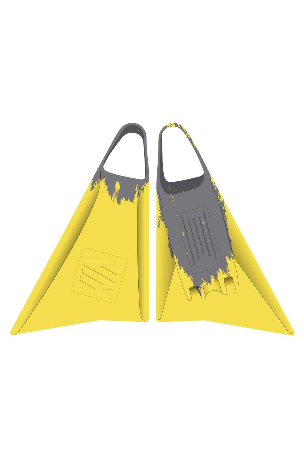 Pés-de-Pato Sniper SNIPER FINS Yellow/Grey