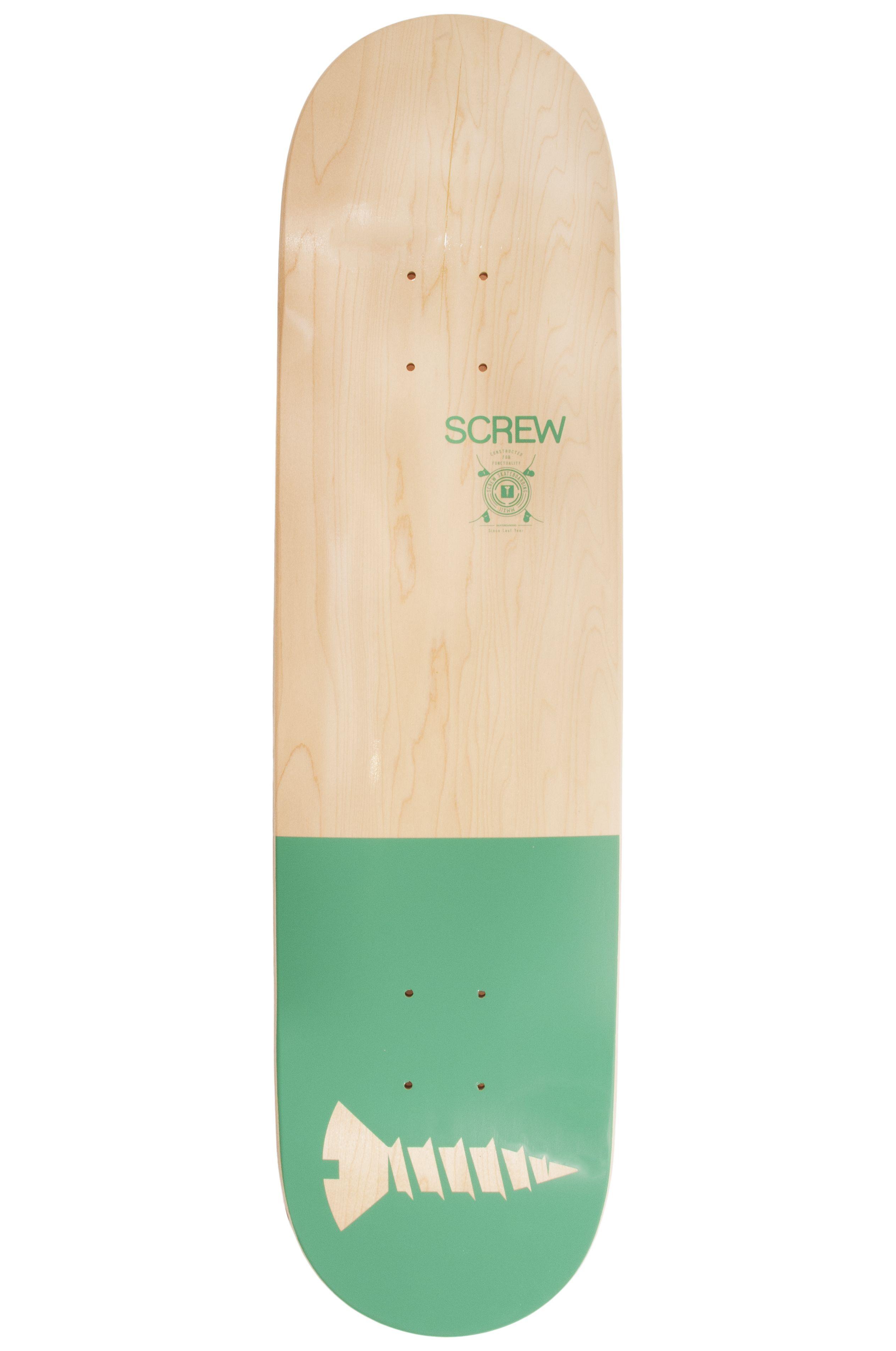 """Screw Skate Board 8"""" COLOR LINE #21 001 Jade"""
