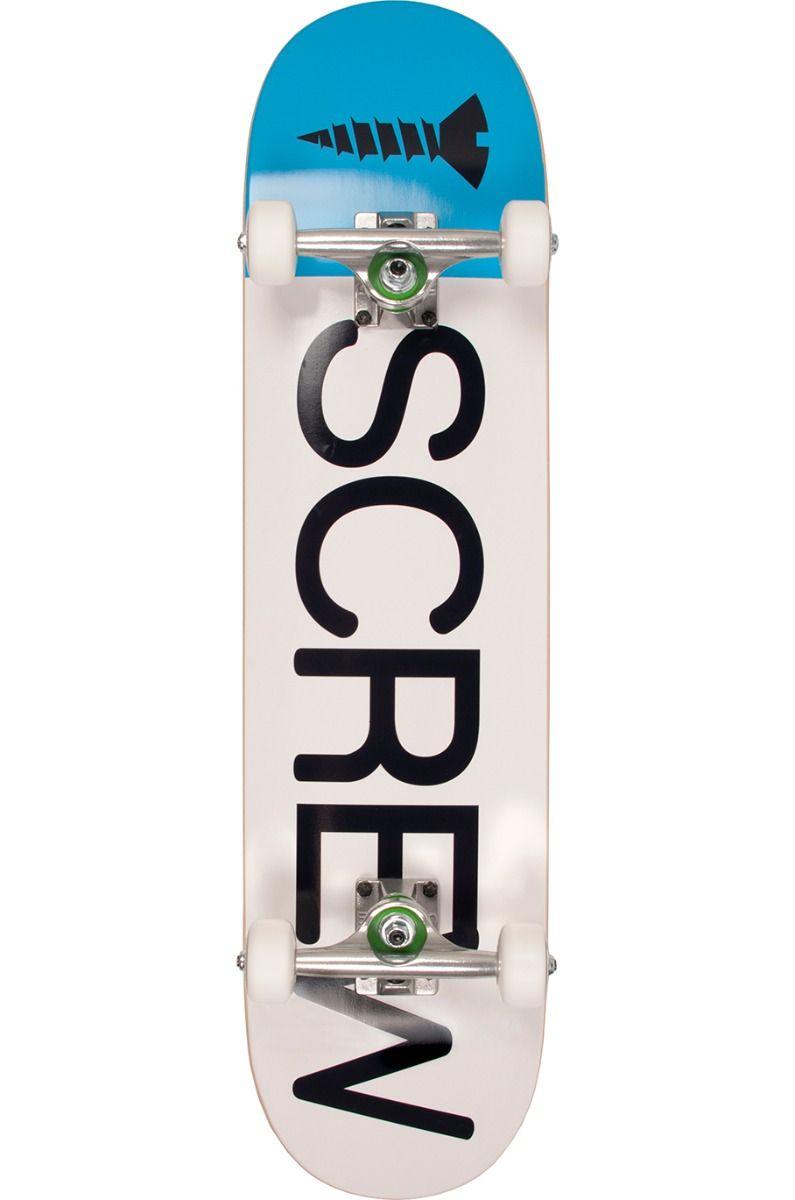 "Street Skate Screw 7.75"" COLOR LINE # CO 19 202 Blue"
