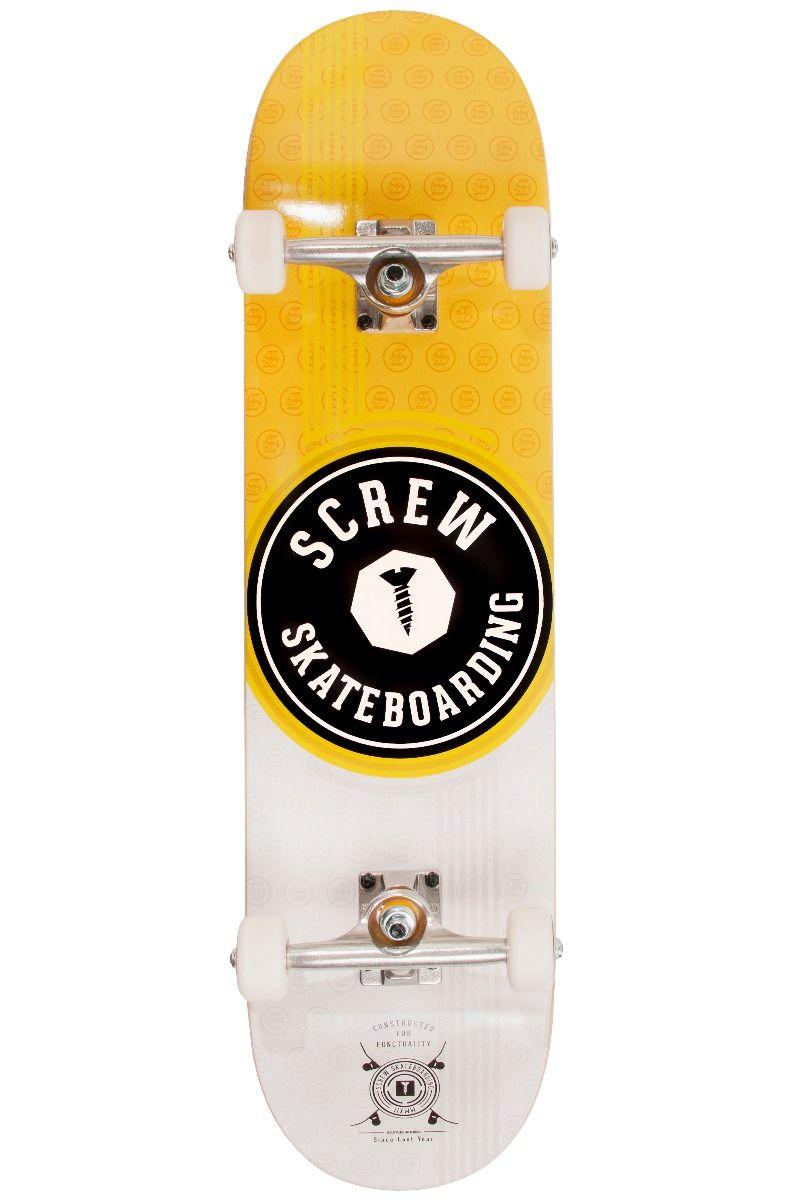 "Street Skate Screw 8"" COLOR LINE #21 007 Yellow"