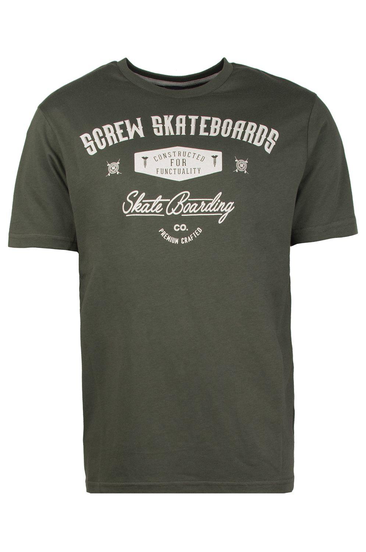 T-Shirt Screw PAINE'S PARK Bottle Green