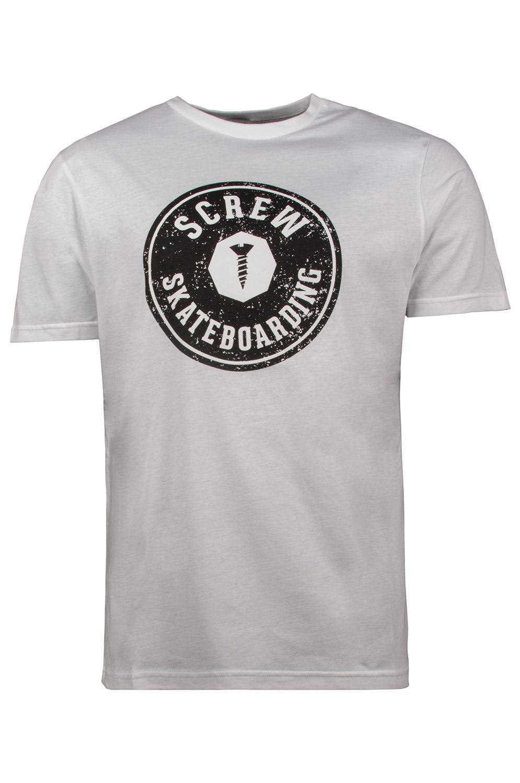 T-Shirt Screw TARGET LOGO White