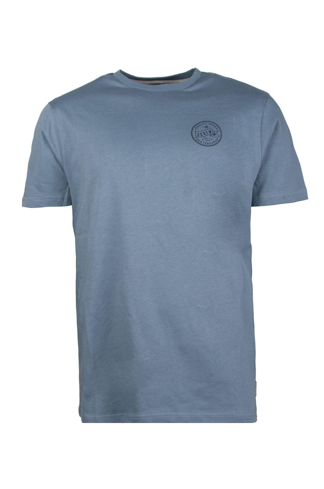 T-Shirt Screw SOUTH BANK Dusk Blue