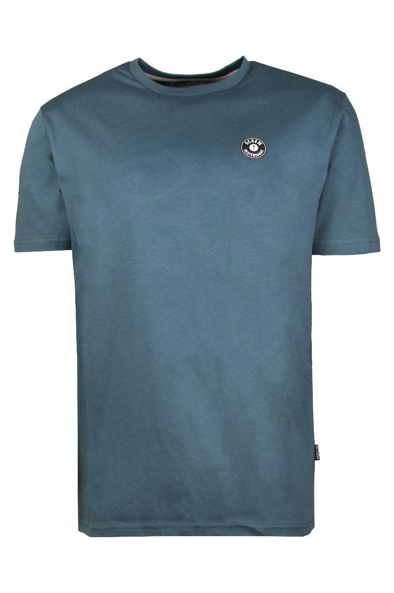 Screw T-Shirt SHOUT Dusk Blue