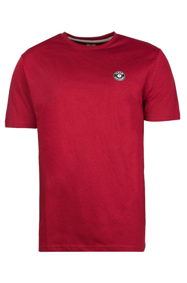 T-Shirt Screw SHOUT Dark Red
