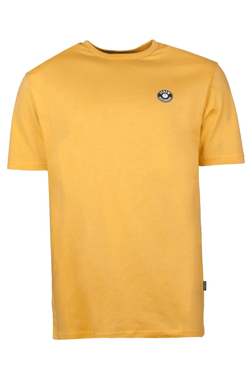 T-Shirt Screw SHOUT Ochre