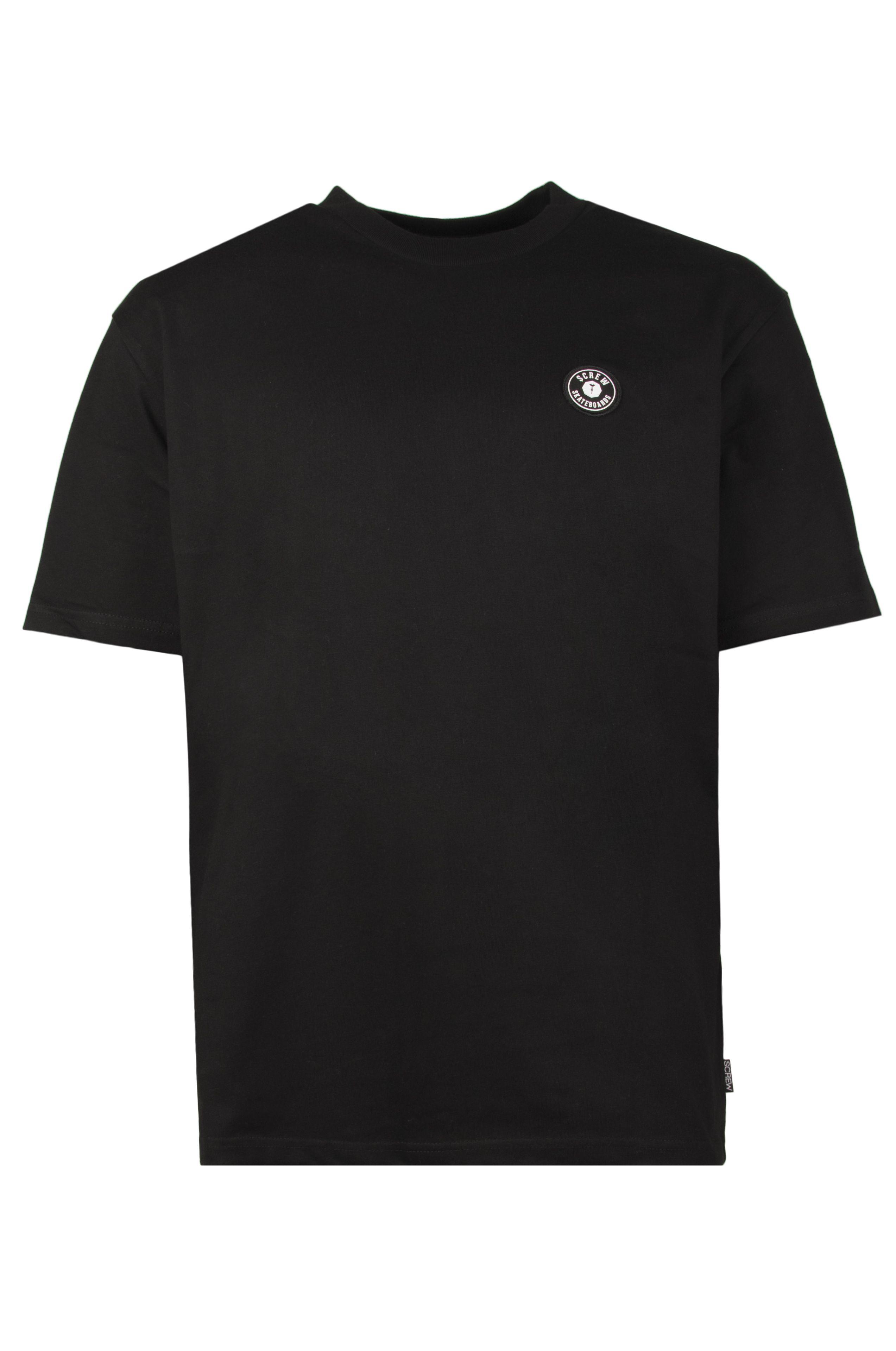 Screw T-Shirt SHOUT KONG Black