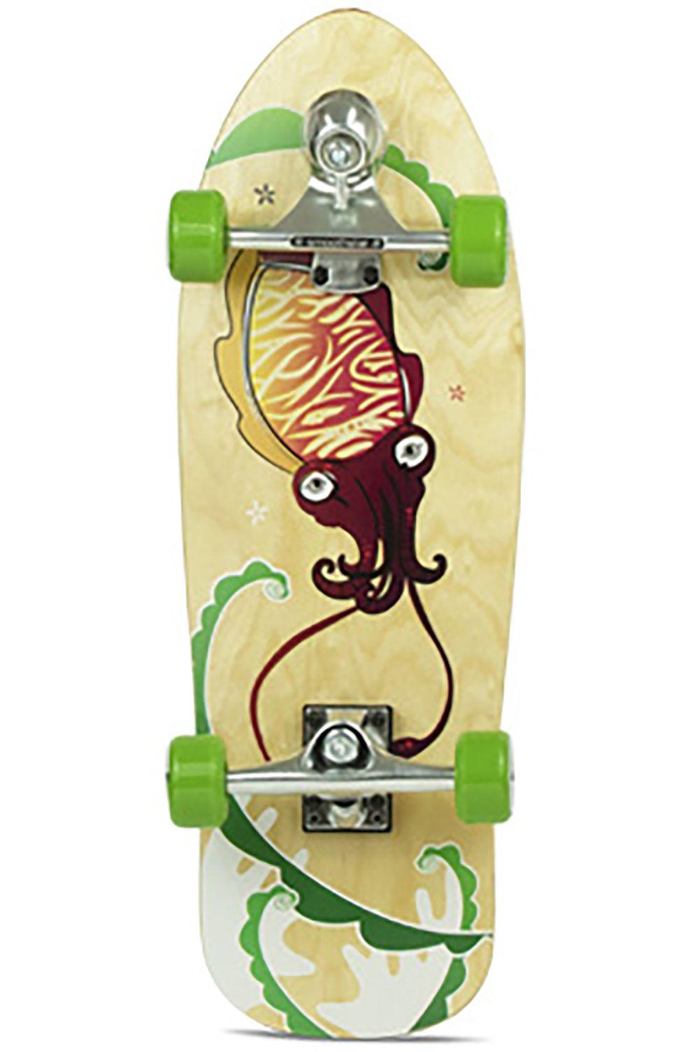 "Smoothstar Surf Skate 26"" MINI GROM CUTTLEFISH Green"