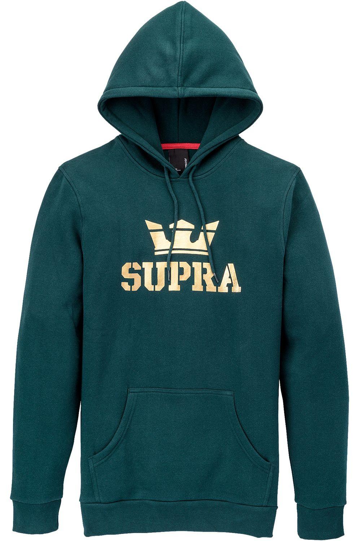 Sweat Capuz Supra ABOVE Evergreen/Gold