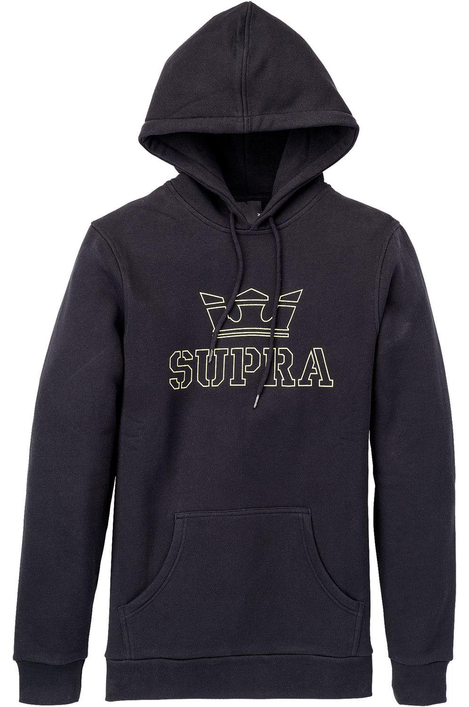 Sweat Capuz Supra ABOVE Black/Hi Vis