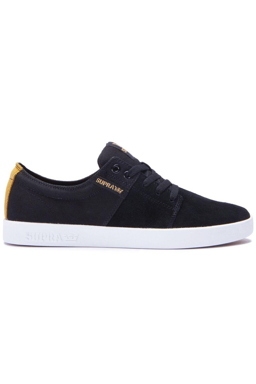 Supra Shoes STACKS II Black-White