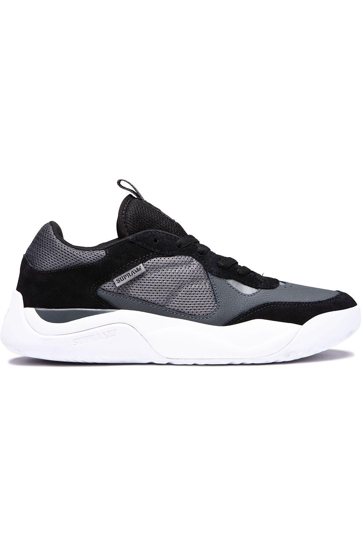 Tenis Supra PECOS Black/Dk Grey/White