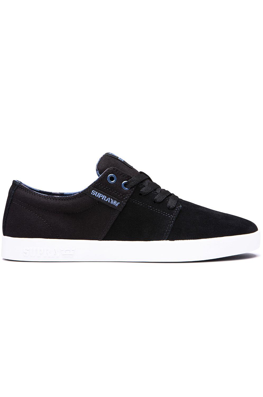 Supra Shoes STACKS II Black/Bering/White