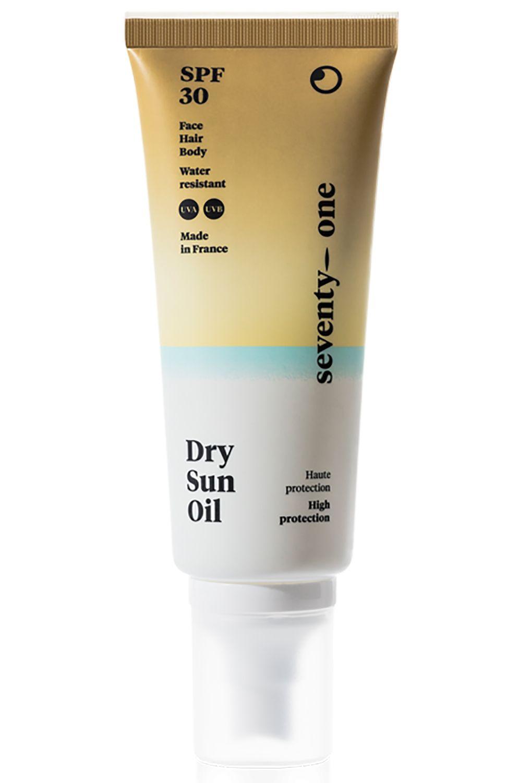Seventy One Percent Sunscreen DRY SUN OIL - SPF30 Assorted