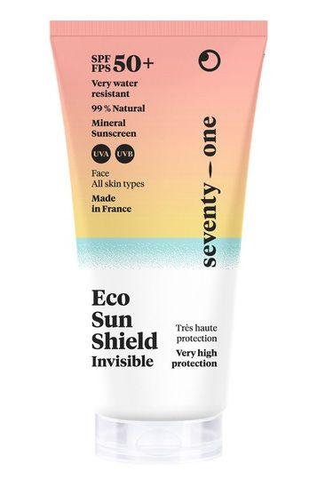 Seventy One Percent Sunscreen ECO SUN SHIELD - INVISIBLE ? SPF50+ Invisible