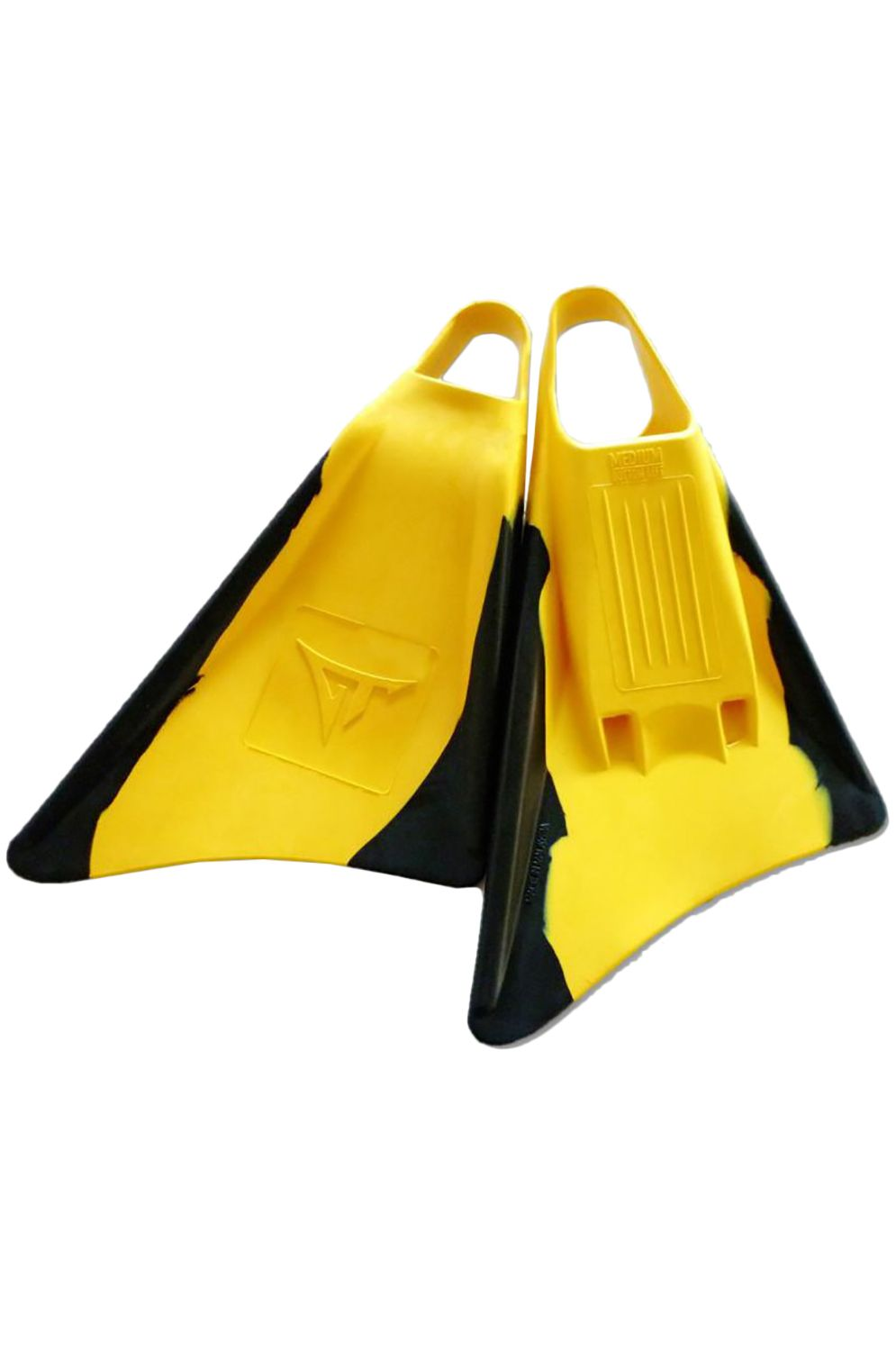Pés-de-Pato GT Boards GT FINS Z Yellow/Black