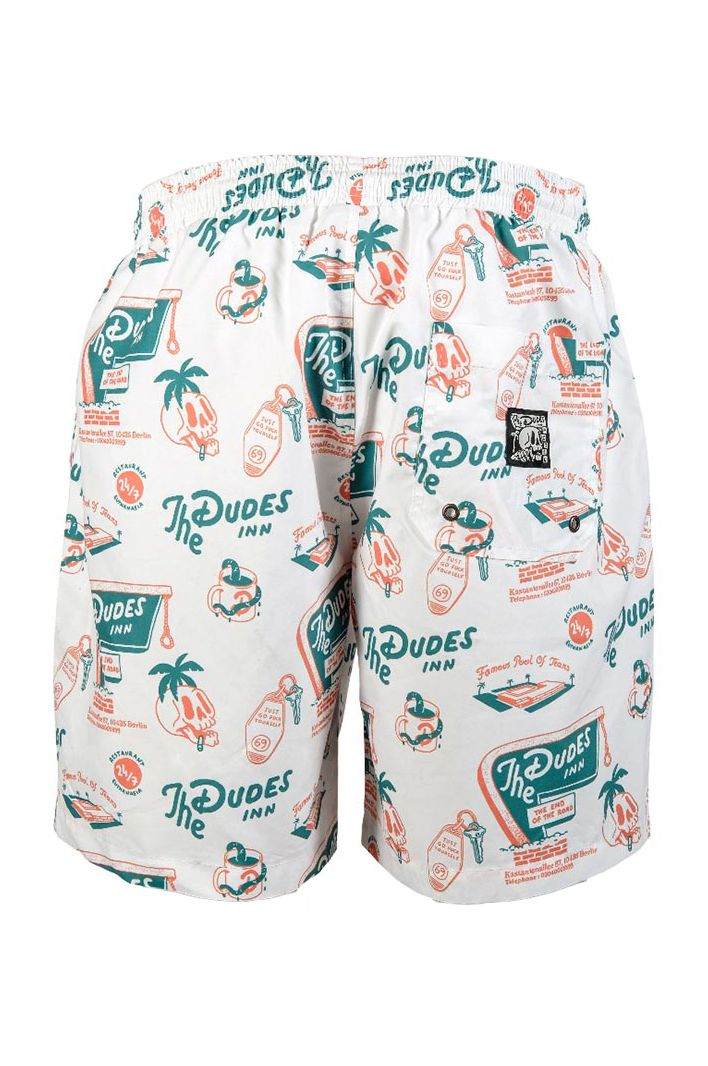 Boardshorts The Dudes ROOM 69 Off-White