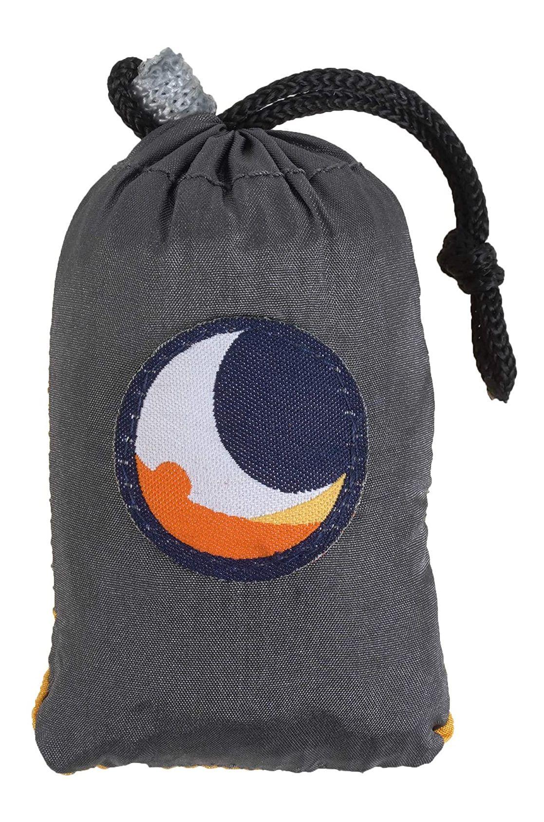 Ticket To The Moon Bag ECO BAG SMALL Dark Grey/Dark Yellow