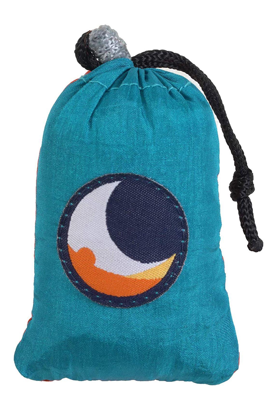 Ticket To The Moon Bag ECO BAG SMALL Aqua/Orange