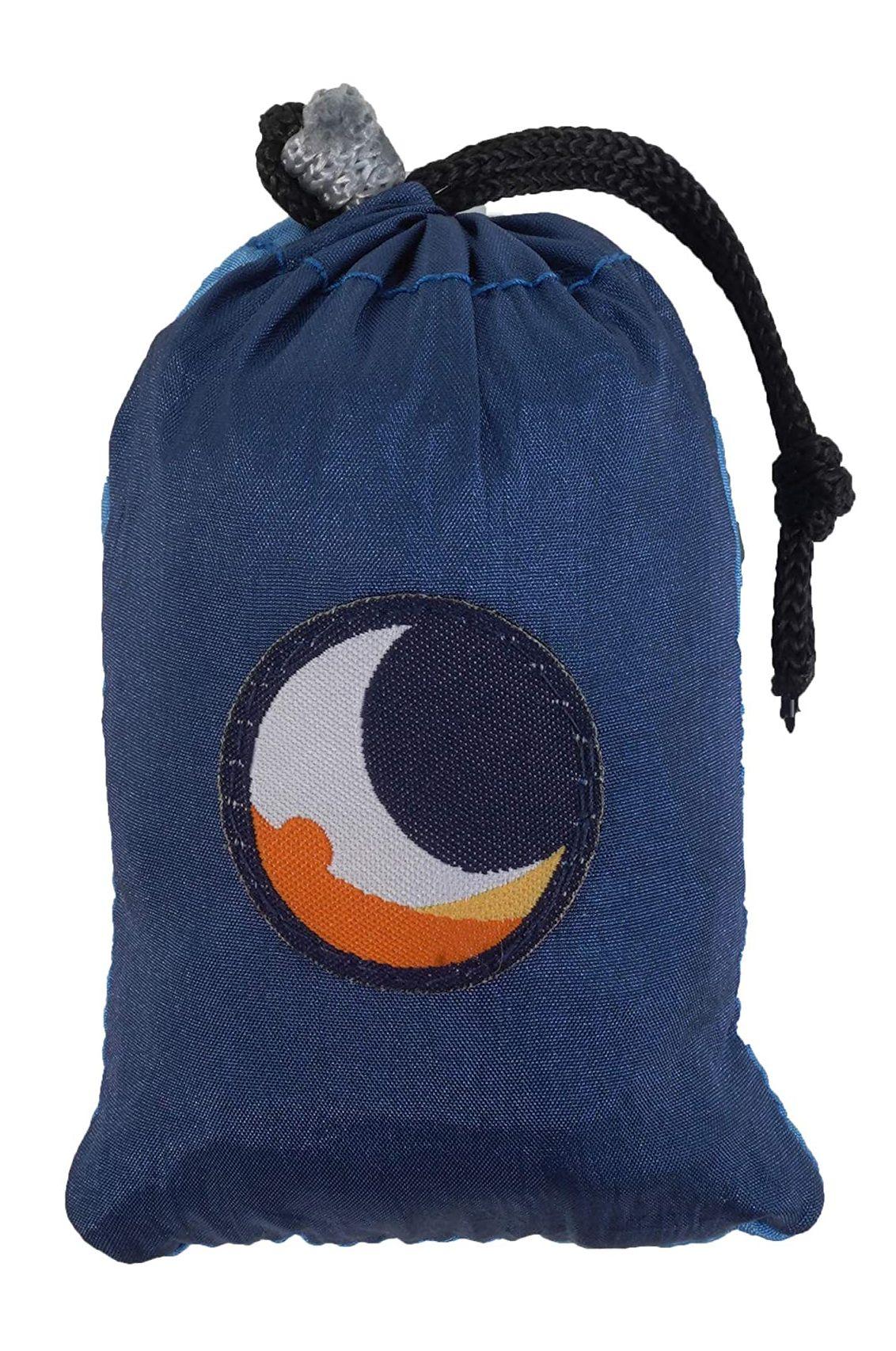Saco Ticket To The Moon ECO BAG MEDIUM Royal Blue/Light Blue