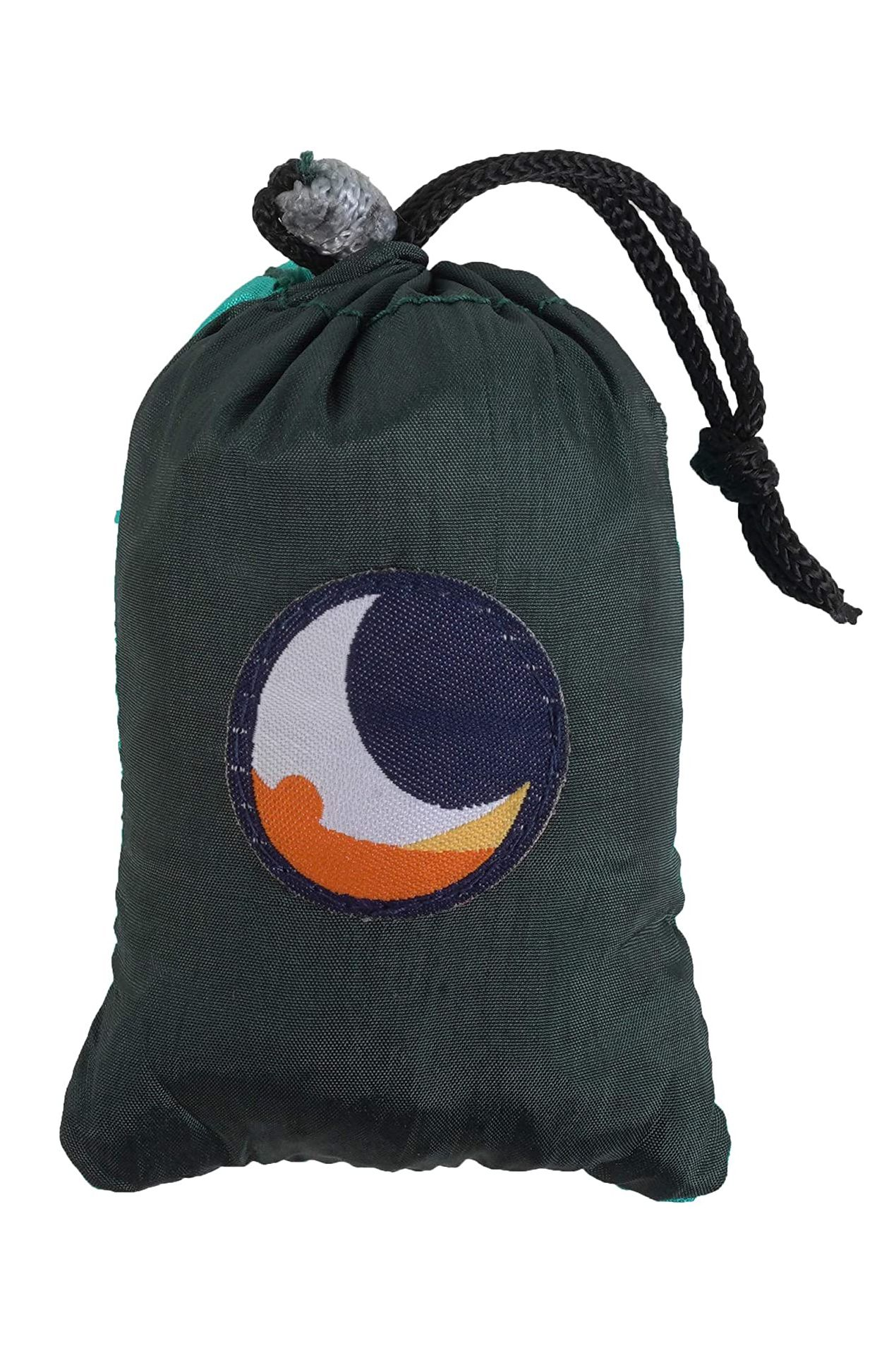 Saco Ticket To The Moon ECO BAG MEDIUM Dark Green/Turquoise