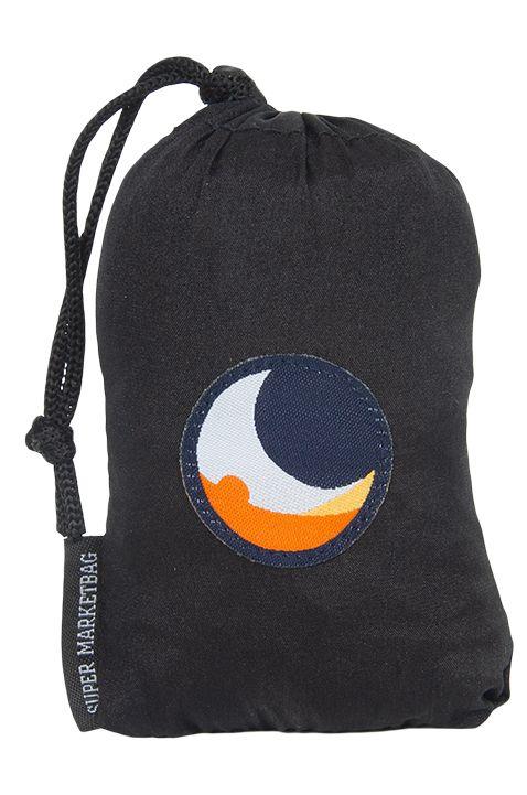 Ticket To The Moon Bag ECO BAG LARGE Black/Black