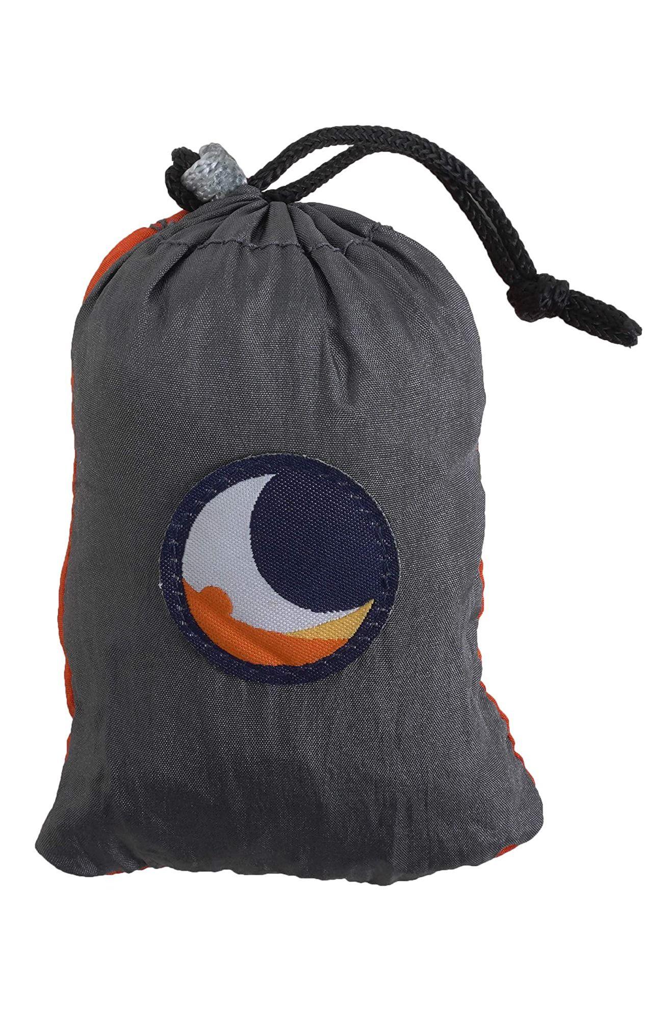Ticket To The Moon Bag ECO BAG LARGE Dark Grey/Orange