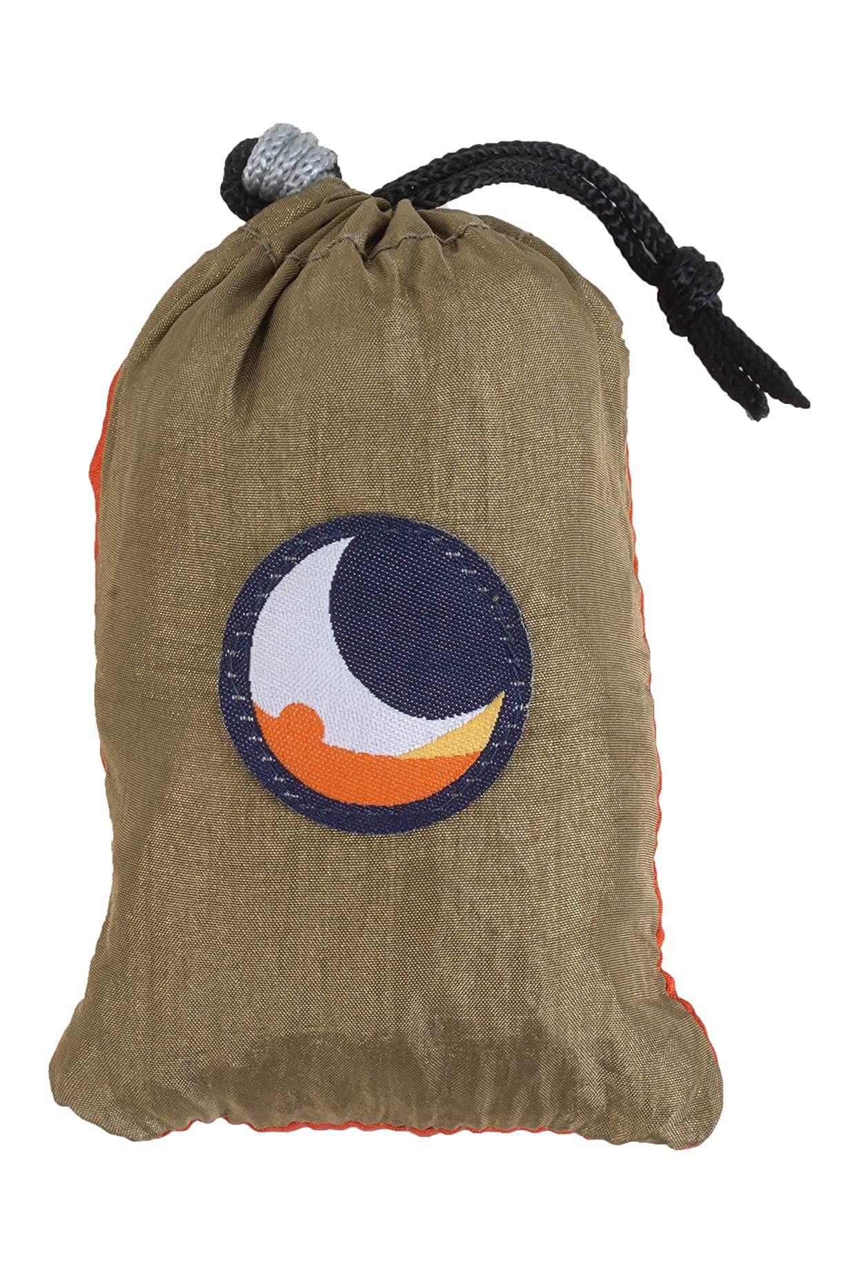 Saco Ticket To The Moon ECO BAG LARGE Brown/Orange