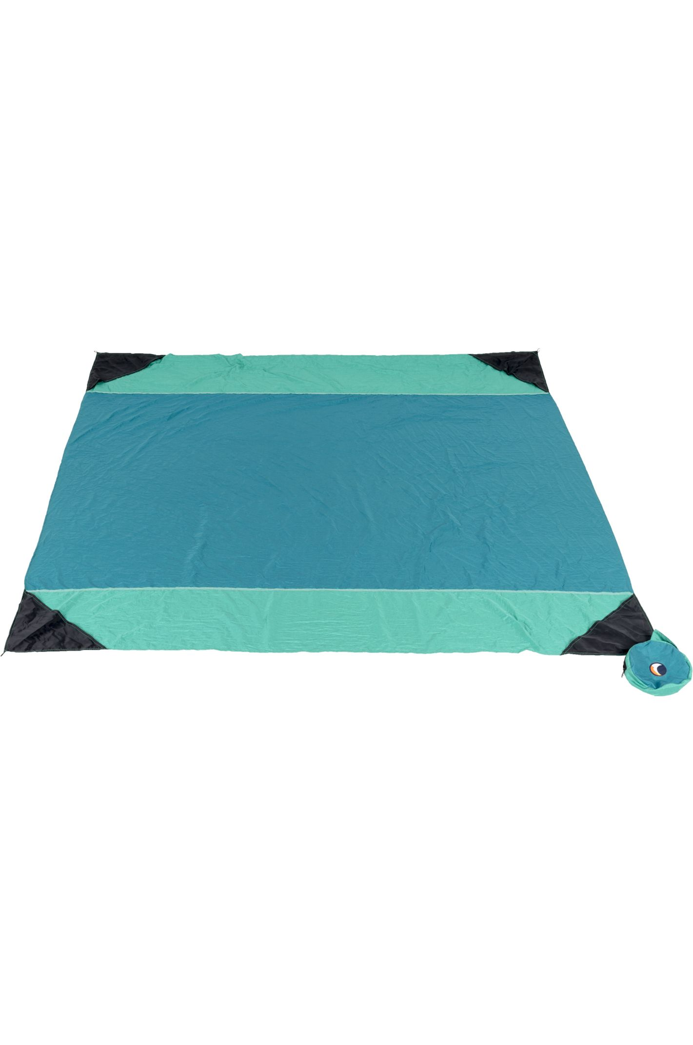 Toalha Ticket To The Moon BEACH BLANKET Emerald Green/Green