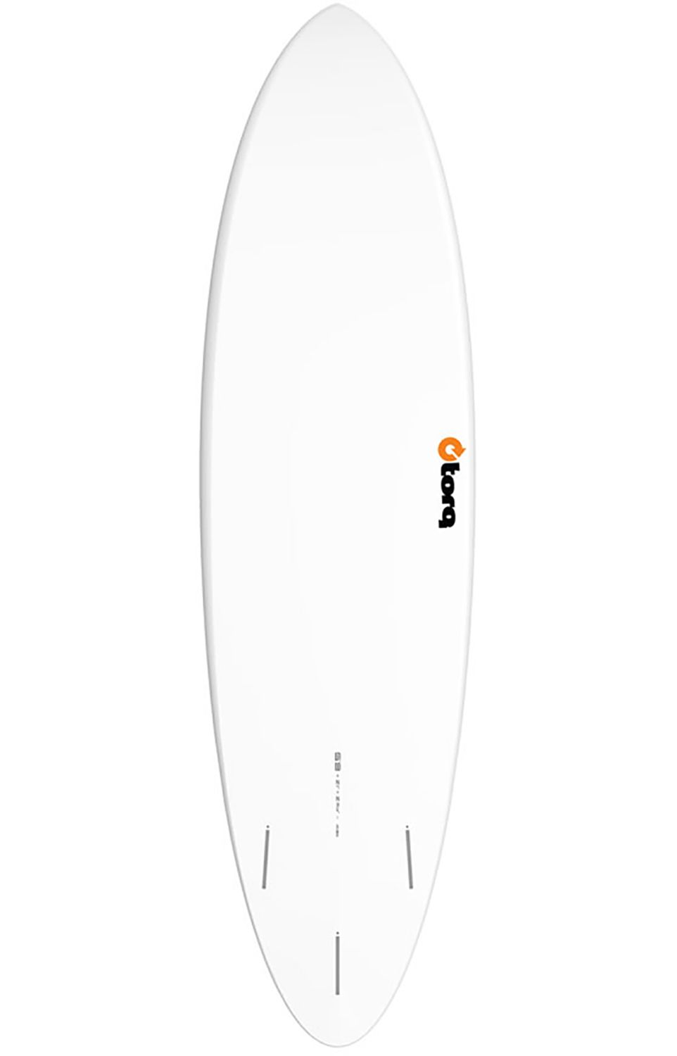 Prancha Surf Torq FUNBOARD Round Tail - White Futures 6ft8
