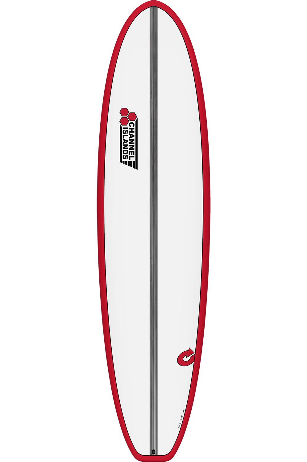 Prancha Surf Torq 7'0 CHANCHO RED + PINLINE Squash Tail - Color Futures 7ft0