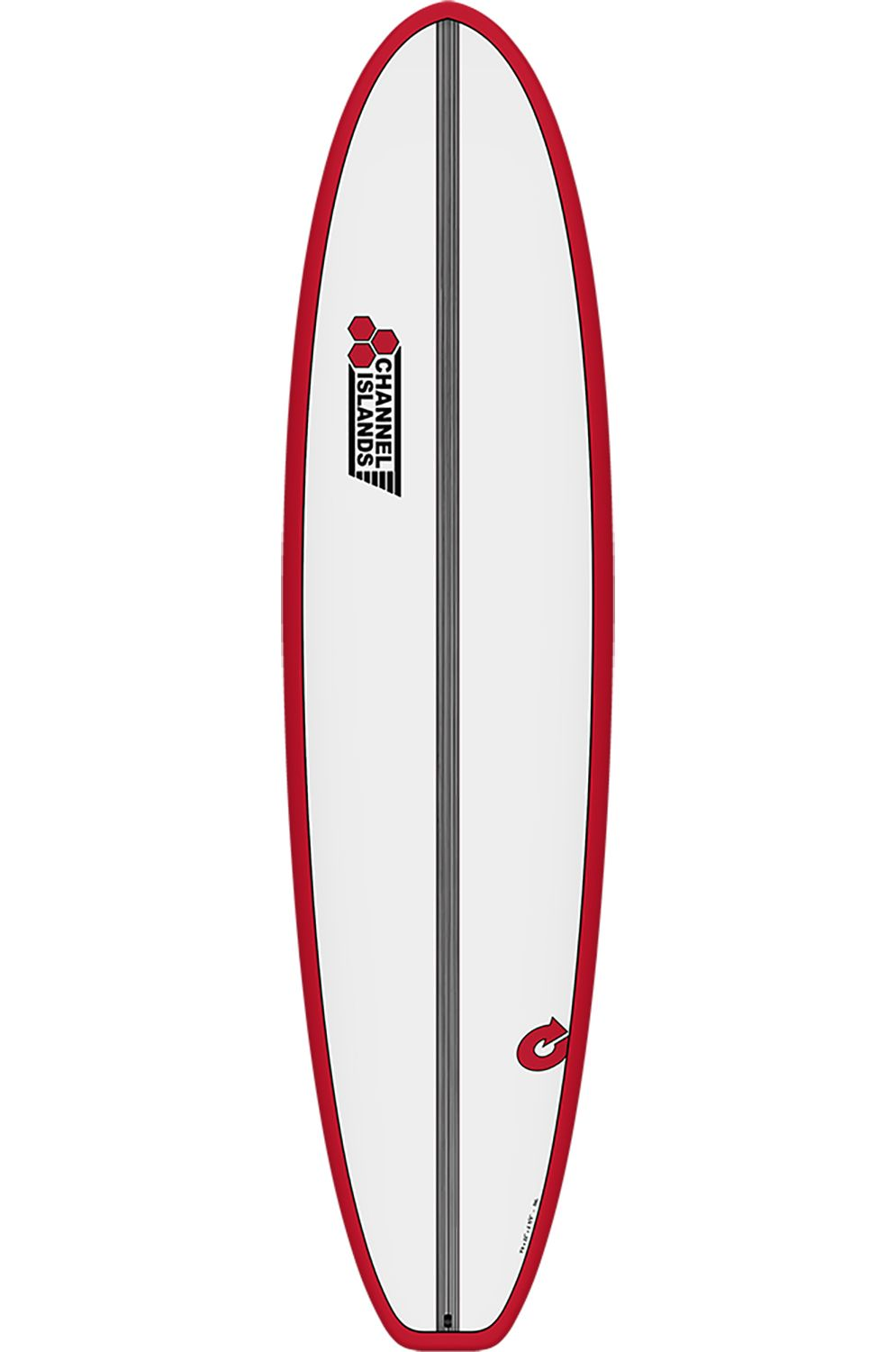 Prancha Surf Torq 7'6 CHANCHO RED + PINLINE Squash Tail - Color Futures 7ft6