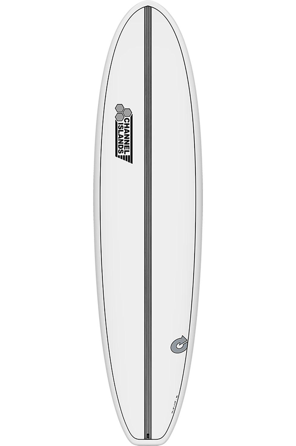 Prancha Surf Torq 8'0 CHANCHO WHITE + PINLINE Squash Tail - White Futures 8ft0