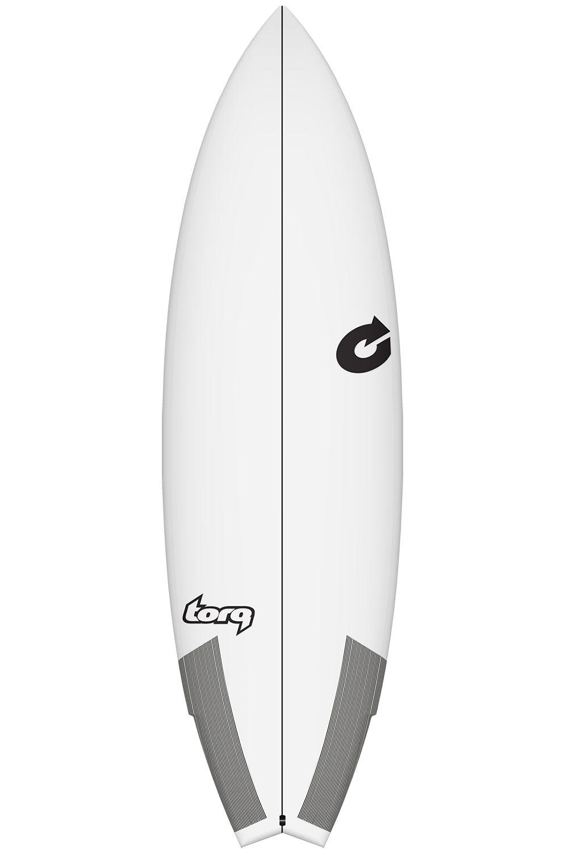 Prancha Surf Torq 5'8 GO-KART WHITE Swallow Tail - White Futures Multisystem 5ft8