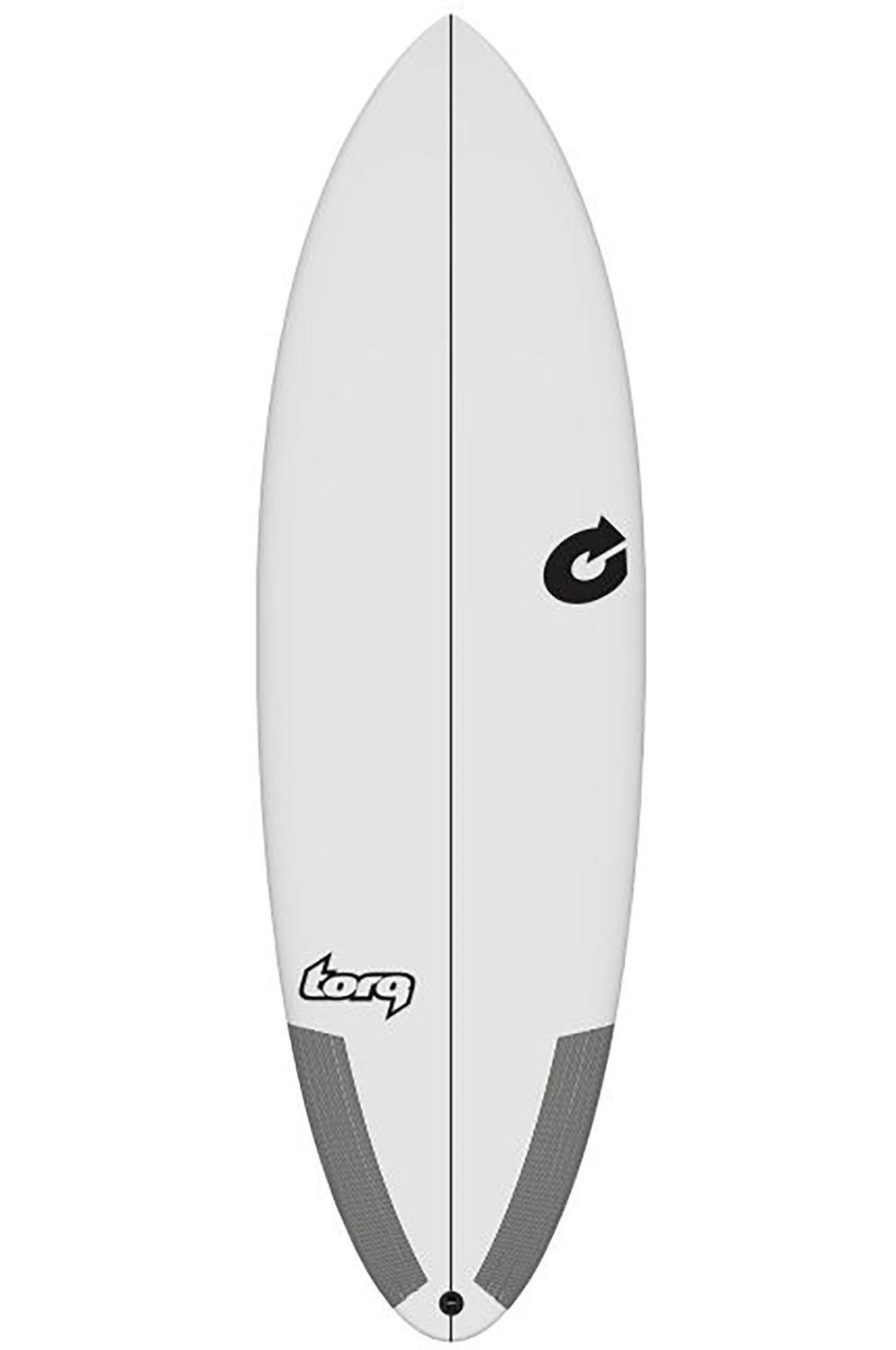 Prancha Surf Torq 6'4 MULTIPLIER WHITE Round Tail - White Futures Multisystem 6ft4