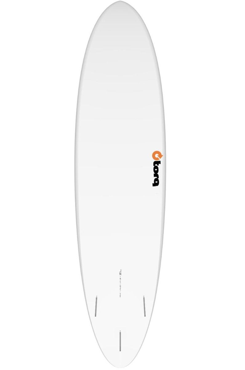 Prancha Surf Torq FUNBOARD 7'2 Round Tail - White Futures 7ft2