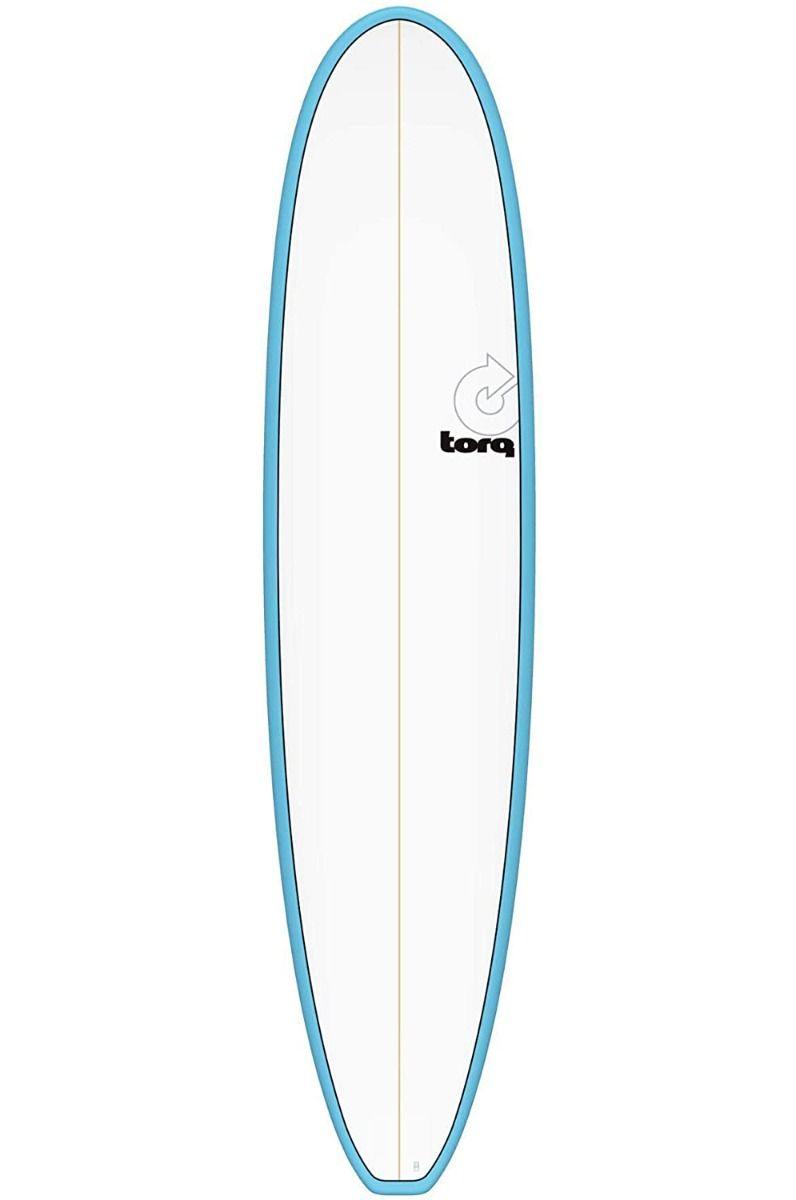 Prancha Surf Torq 8'0 MINI LONG BLUE + PINLINE Squash Tail - Color Futures 8ft0