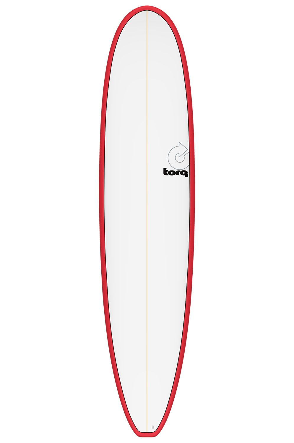 Prancha Surf Torq 8'6 LONGBOARD RED + PINLINE Squash Tail - Color 2 + 1 Futures 8ft6