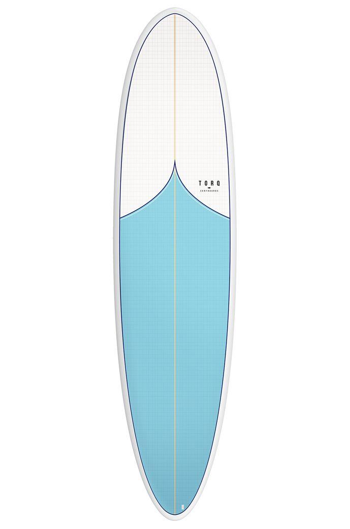 Torq Surf Board 6'8 MOD FUN VORTEX+PATTERN Squash Tail - Color Futures 6ft8