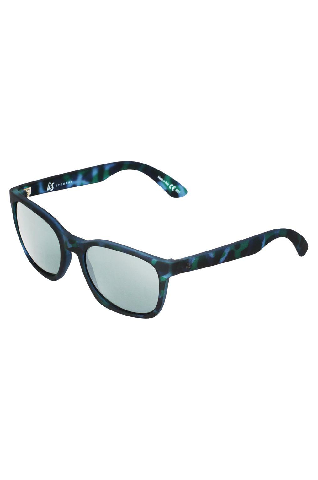 US Sunglasses BARYS Blue Tort/Grey Silver Chrome